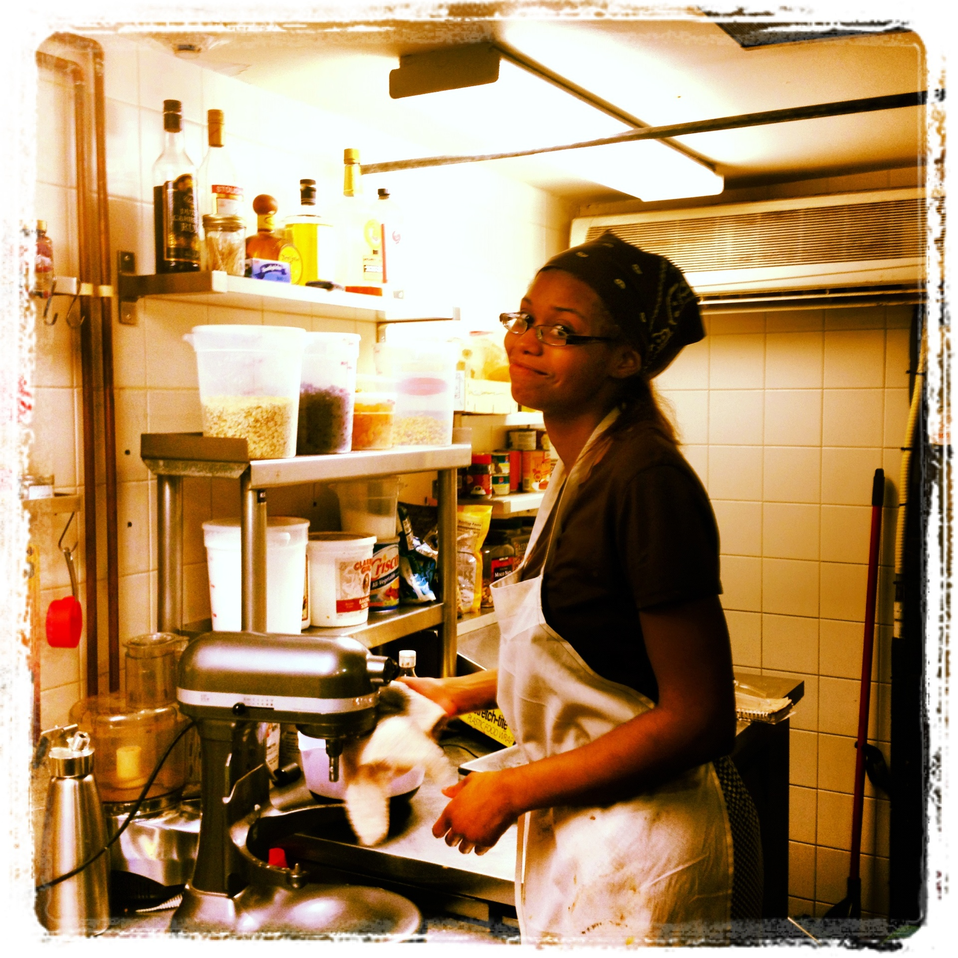 Our head chocolatier, Alex